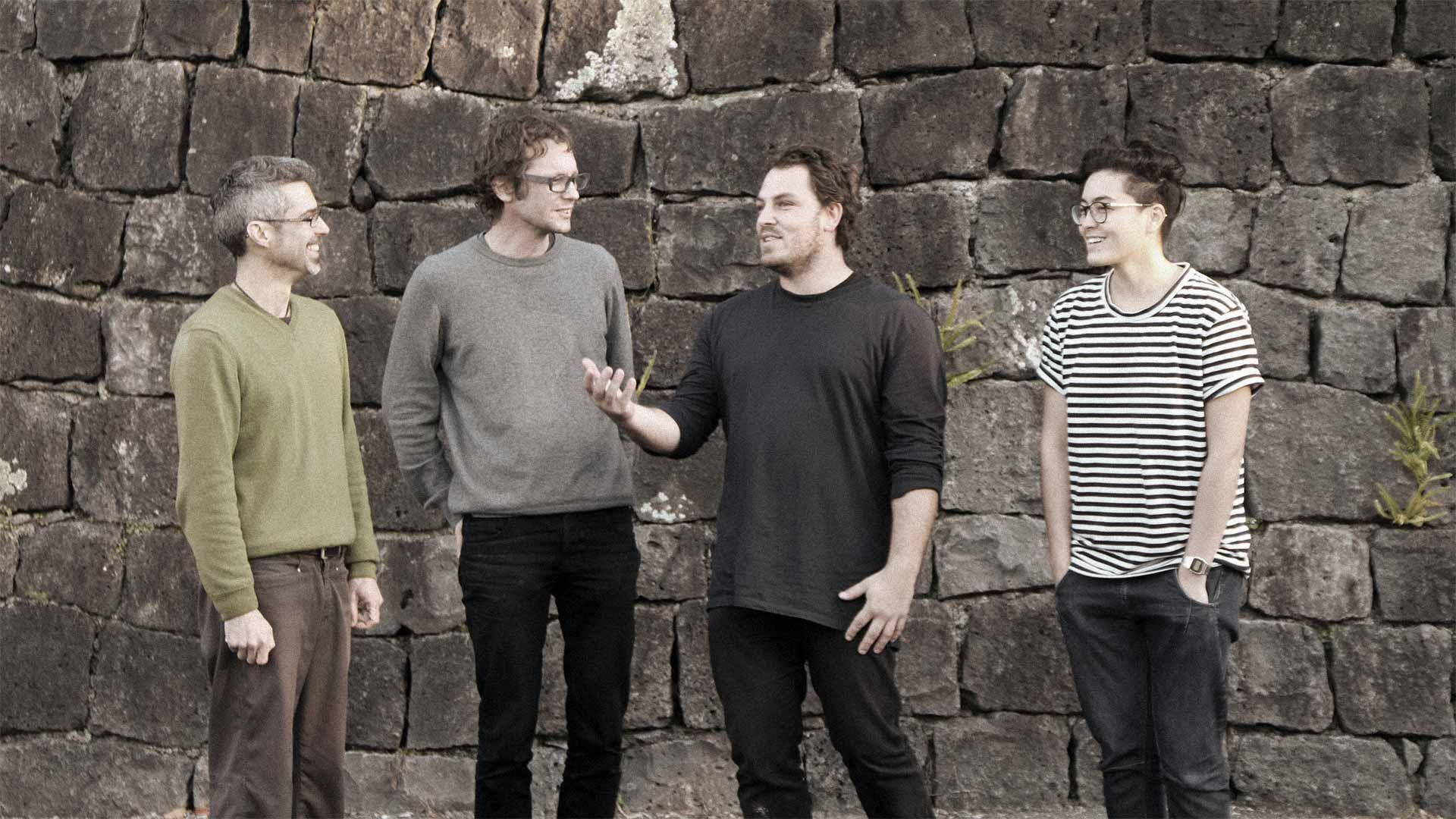 Resilio - Who we are - Finn, Gary, Jack, Fiona