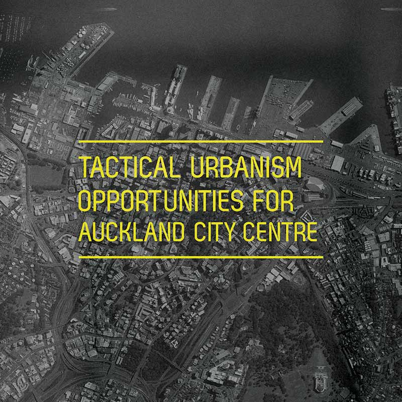 Tactical Urbanism Opportunities